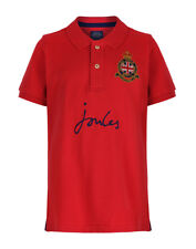Joules Boys' Harry Polo Shirt - Red V_JNRHARRY
