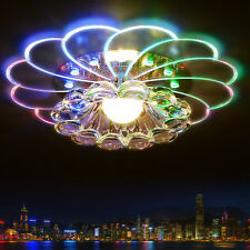 lampshade crystal ceiling light 3W/5W bedroom/foyer ceiling light round led home