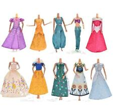 1 X Lace Dresses For Cinderella Barbies Dolls Gown Wedding Party Doll Beauty