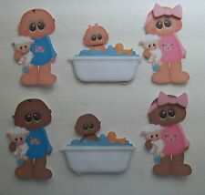 3D - U Pick - BTH2 Baby Girl Boy Bath Teeth Potty Scrapbook Card Embellishment