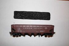HO TRAIN CARS  Athern LEHIGH VALLEY 40' Hoper Car w Coal Load (Anthracite) USED
