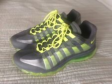 MEN'S NIKE AIR MAX '95 360 - WOLF GREY & VOLT - SIZE 11.5