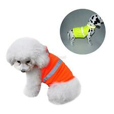 Pet Dog Visibility Reflective Safety Vest Puppy Cat Coat Clothes Apparel Outwear