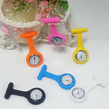 Fashion Silicone Nurses Brooch Tunic Fob Watch without Battery New