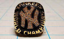 New York Yankees 1977 replica World Series Championship Ring Rare Collectable NY