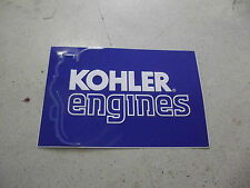 KOHLER ENGINES ORIGINAL TWO  SIDED 24X36  SIGN CUB CADET,WHEELHORSE,JOHN DEERE
