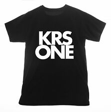 KRS-One t shirt Clothing Tee T-shirt rapper Hip Hop underground rap songs albums