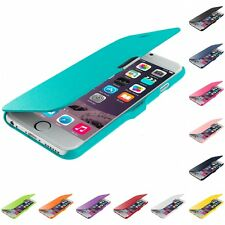 For Apple iPhone 6S (4.7) Magnetic Wallet Flip Hard Soft Case Cover Pouch Holder