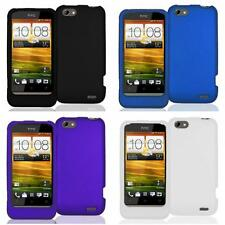 For HTC One V Phone Color Hard Snap-On Rubberized Skin Case Cover Accessory