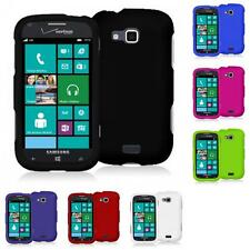For Samsung Ativ Odyssey i930 Color Hard Snap-On Rubberized Skin Case Cover
