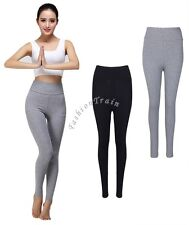 Womens Ladies High-waisted Stretch High Waisted Gym Yoga Leggings Pants Trousers