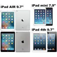 "Apple iPad mini/mini 2 7.9"" iPad Air iPad 4th 9.7"" 16GB/32GB/64GB WIFI Only N9Z6"