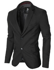 MODERNO Mens Slim Fit Suit Blazer Sport Coat (MOD14514B)