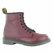 Dr.Martens Delaney Cherry Leather Kids Boots - 15382601