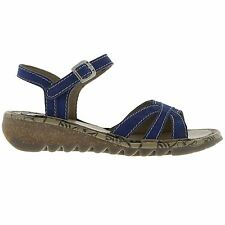 Fly London Tach 671 Blue Womens Shoes