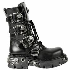 New Rock Oxido M 391 Punk Goth Black Mens Boots