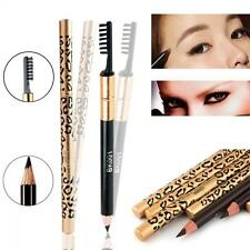 Cosmetic Waterproof Long-Lasting Brush Eyebrow Pencil Makeup Leopard Eyeliner