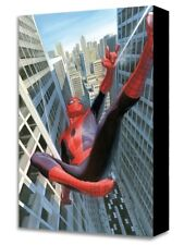 Spider-Man Learning to Crawl Alex Ross Gallery Wrapped Canvas NEW Official 11x17