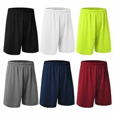 Men Loose Shorts Pants Casual Basketball Trousers Sport Running Jogging Trousers
