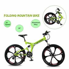 Cyrusher RD100 Shimano 24 Speed Full Suspenion Folding Mountain Bike TW