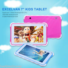 "7"" Kids Android 4.4.4 Quad Core 8GB WIFI 3G Child Children Tablet PC New Gift UK"