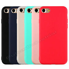 APPLE IPHONE 6/7/7+ PLUS REAR BACK CASE SHELL COVER RUBBER PROTECTOR BUMPER NEW