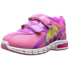 Barbie Girls Pink Lighted Sneakers Shoes BBS905 7 8 9 10 11 12
