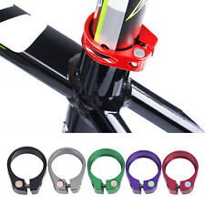 Cycling Bike Bicycle Quick Release QR Seat Post Bolt Binder Clamp