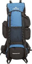 Large Backpack Internal Frame Hydration Tube Camping Hiking Survival Sports Gear
