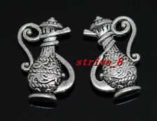 50/300pcs Tibetan Silver Beautiful Vase Alloy Jewelry Charms Pendant 17x12mm