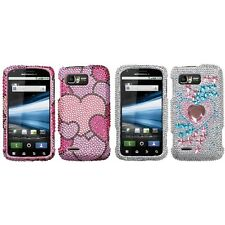 For Motorola Atrix 2 MB865 Diamond Diamante Bling Rhinestone Case Cover
