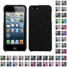 For Apple iPhone 5/5S/SE Diamond Diamante Bling Rhinestone Case Cover