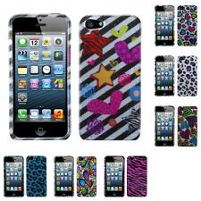 For Apple iPhone 5/5S/SE Design Snap-On Hard Case Phone Skin Cover