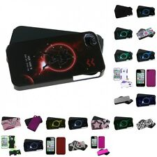 For Apple iPhone 4/4S Hybrid 2-Piece Hard Soft Case Phone Cover Skin