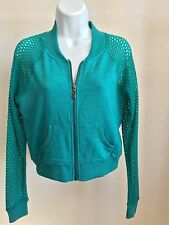 LADIES ZIP UP JACKET - MESH NETTED LONG SLEEVES - FRONT POCKETS - BRAND NEW