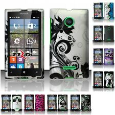 For Nokia Microsoft Lumia 435 Hard Rubberized Matte Snap-On Case Phone Cover