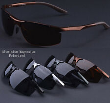 New Mens Aluminium Polarized Sunglasses Sports Cycling Bike Driving Goggles