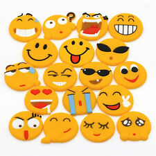 Emoji Cartoon Expression Fridge Magnet Decor Whiteboard Note Message Holder liau