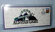 1998 COLORADO ROCKIES COMMEMORATIVE ALL STAR GAME ENVELOPE JULY 7TH, 1998