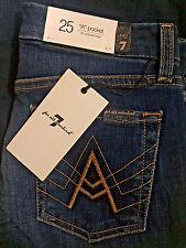 """NWT Womens 7 for all mankind Jeans """"A"""" pocket flare size 25"""