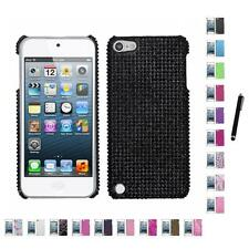 For Apple iPod Touch 5th 6th Gen Diamond Bling Rhinestone Case Stylus Pen
