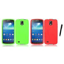 For Samsung Galaxy S4 Active i537 Silicone Skin Soft Rubber Case Stylus Pen
