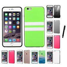 For Apple iPhone 6/6S Plus [5.5] TPU Design Case Phone Cover Stylus Pen