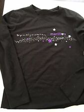 "Marillion Ladies Long Sleeve T-Shirt  ""Put your arms around my soul..."""