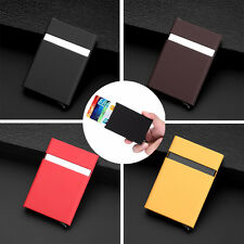 New Aluminum Slim ID Credit Card RFID Protector Holder Case Purse Secure Wallets