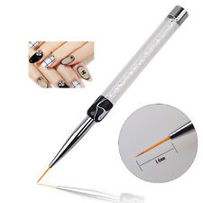 For Nail Art Tips Tiny Liner Crystal Painting Handled Drawing Pen Brush Tool