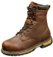 Rocky Mens Brown Leather Ironclad Waterproof Insulated Work Boots