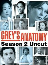 Grey's Anatomy - Season 2: Uncut (DVD, Set) SEALED!--NEW !