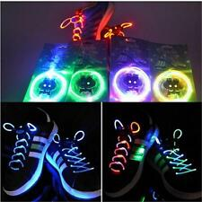 Washable Light Up Shoe Laces Glow Stick LED Shoelaces Shoestring Wedding Party