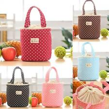 Lunch Picnic Thermal Insulated Bag Tote Waterproof
